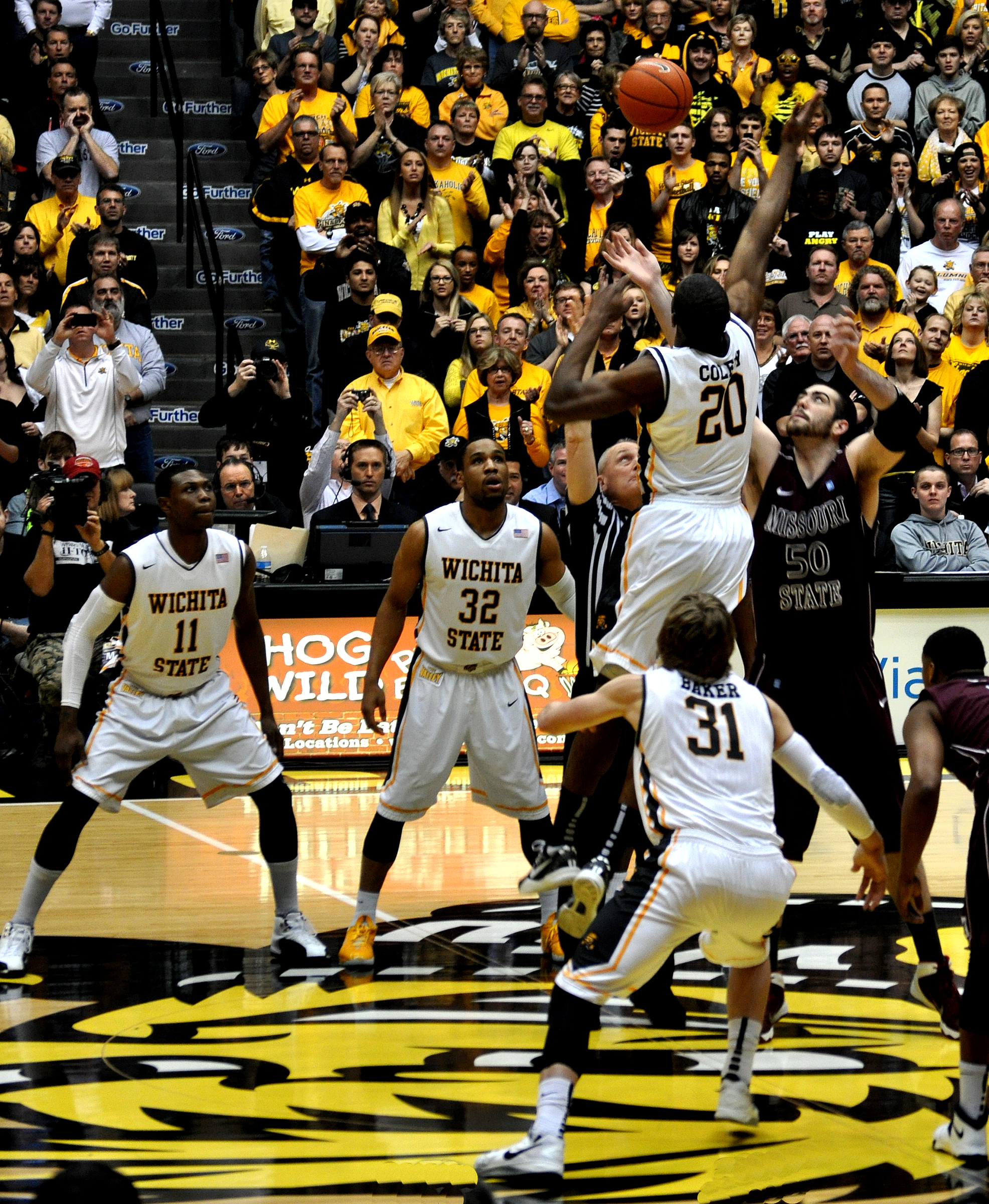 Wichita State University Basketball has a perfect 31-0 season