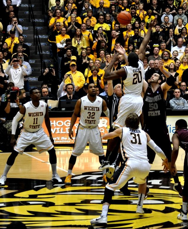 Wichita State University Shockers defeat Missouri State