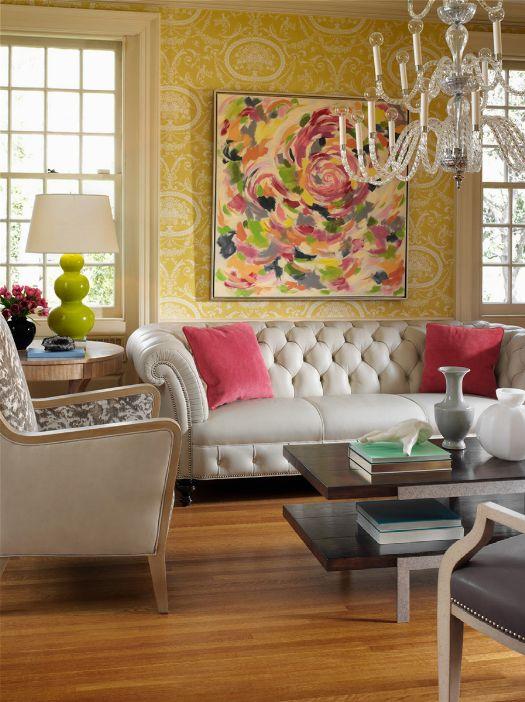 Henessey Chesterfield sofa