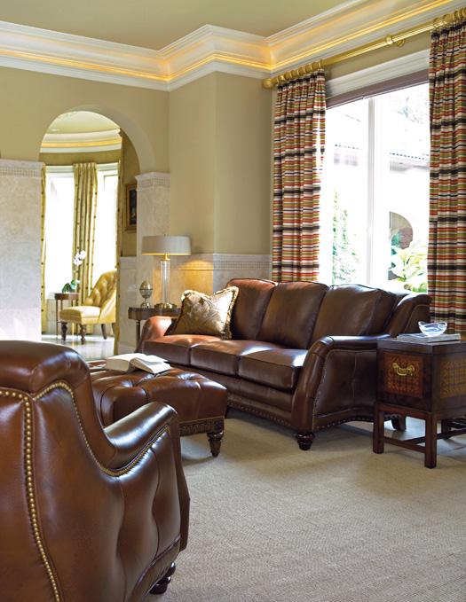 Sundance sofa by Hancock & Moore