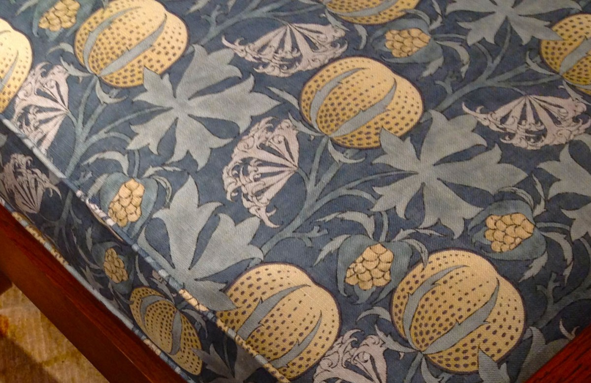 William Morris – melon fabric