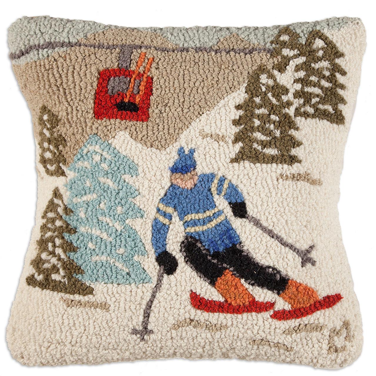 gondola run chandler 4 corners throw pillow