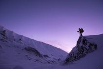 snow-hiker
