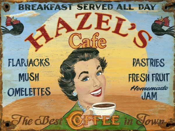 hazels cafe red horse signs robyns lake house