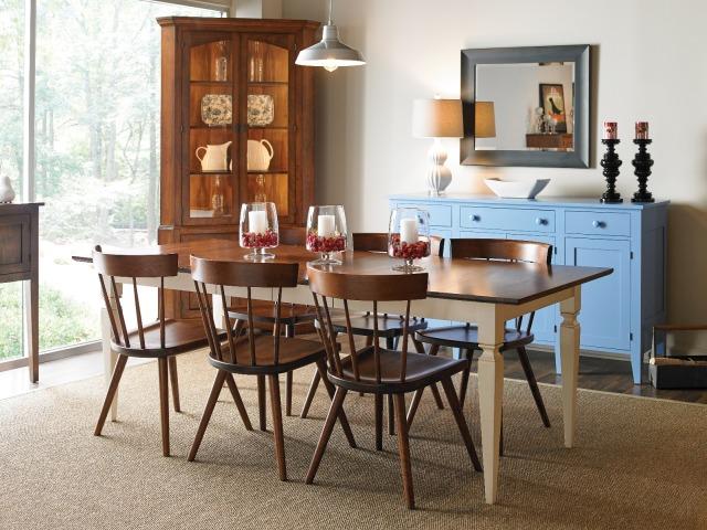 jackson dining table gat creek furniture