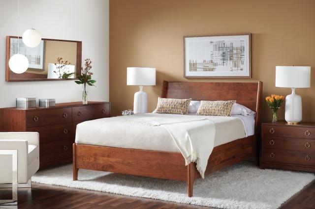 Sunbury bed Gat Creek Furniture