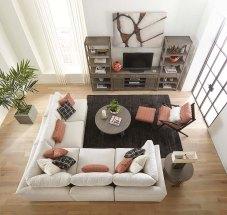 Baldwin Sectional 5 Piece Living Room